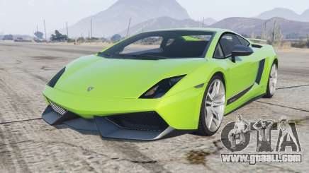 Lamborghini Gallardo LP 570-4 Superleggera 2010 for GTA 5