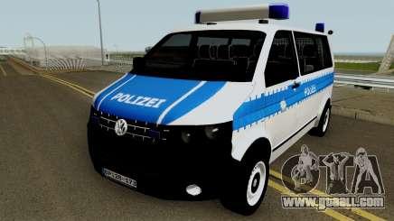 Volkswagen T5 German Police for GTA San Andreas