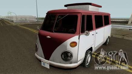Burgerfahrzeug Volkswagen T2 Microbus for GTA San Andreas