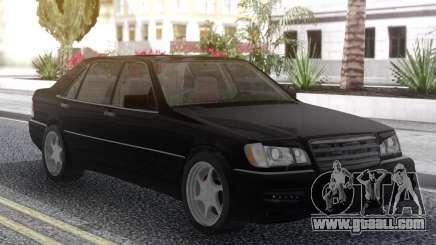 Mercedes-Benz W140 Kleeman for GTA San Andreas