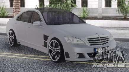 Mercedes-Benz SV12 Brabus for GTA San Andreas