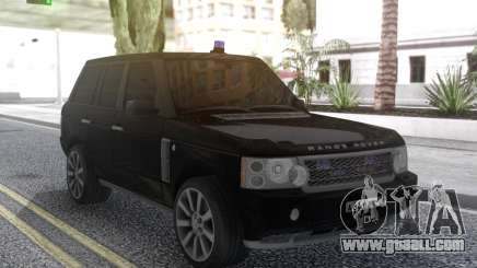 Land Rover Range Rover Sport Black for GTA San Andreas