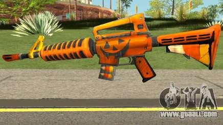 Fortnite Halloween M4 for GTA San Andreas