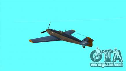 Rustler - BF109E4 for GTA San Andreas