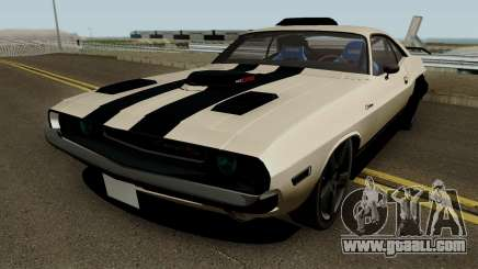 Dodge Challenger RT 1970 Tuned for GTA San Andreas
