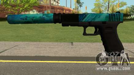 Hurricane Glock 17 for GTA San Andreas