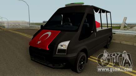 The Funeral Of Martyrs Tool Ford Transit for GTA San Andreas