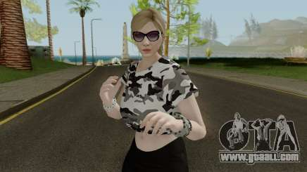 GTA Online Female Skin With Normal Map for GTA San Andreas