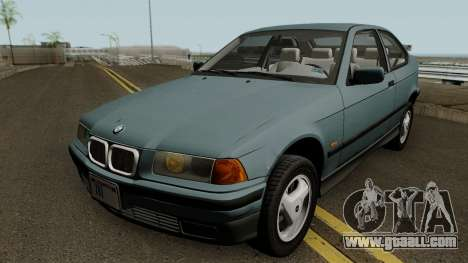 BMW 3-Series e36 Compact 318ti 1995 (US-Spec) for GTA San Andreas