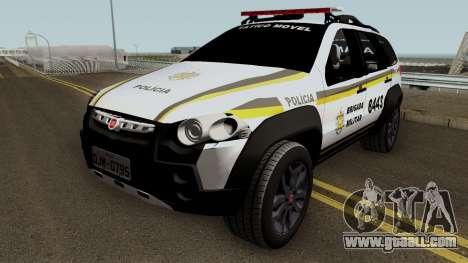 Fiat Palio Weekend Brazilian Police (Patamo) for GTA San Andreas