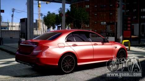 Mercedes-Benz E63S AMG for GTA 4