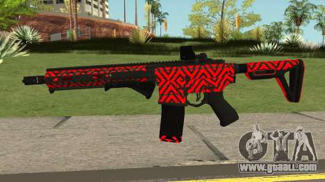New Assault Rifle (Red) for GTA San Andreas