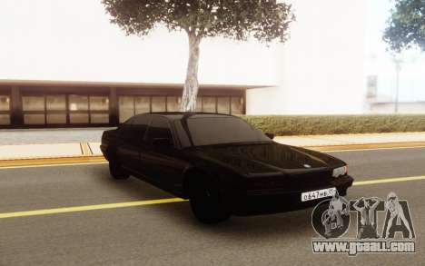 BMW E38 750i for GTA San Andreas back view