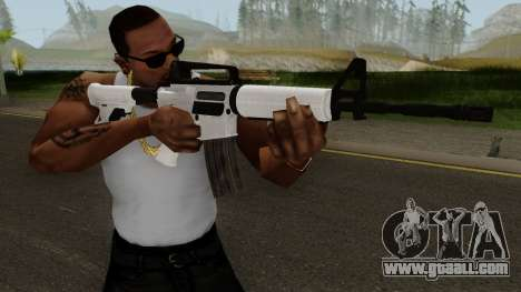 Devil Third Online M4A1 for GTA San Andreas