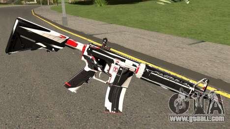 M4A4 TiiTree for GTA San Andreas second screenshot