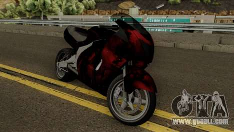 Hakuchou Custom from GTA 4 EFLC for GTA San Andreas
