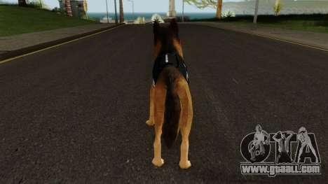 K9 Dog With Vest for GTA San Andreas third screenshot