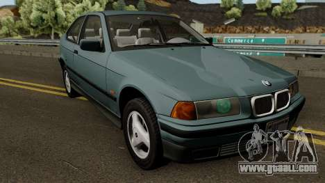 BMW 3-Series e36 Compact 318ti 1995 (US-Spec) for GTA San Andreas inner view