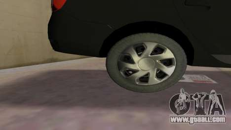2013 Dacia Logan MCV for GTA Vice City