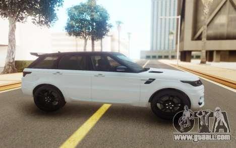 Range Rover Sport StarTech for GTA San Andreas