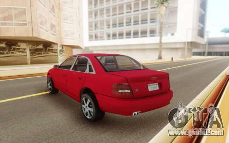 Audi S4 2000 for GTA San Andreas right view