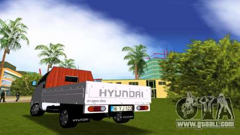 Hyundai H100 for GTA Vice City
