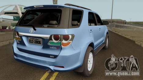 Toyota Hilux SW4 SRV 4X4 3.0 Turbo 2014 for GTA San Andreas