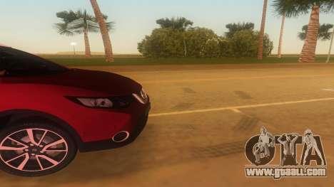 2016 Nissan Qashqai for GTA Vice City