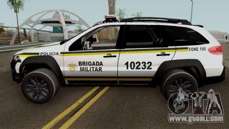 Fiat Palio Weekend Brazilian Police for GTA San Andreas