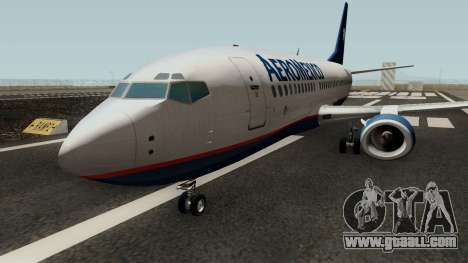 Boeing 737-300 Aeromexico for GTA San Andreas