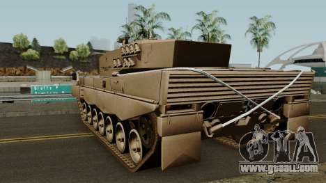 Leopard 2A4 (Ejercito de Chile) for GTA San Andreas