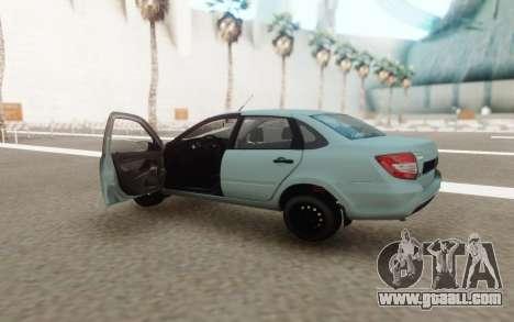 Lada Granta 2 for GTA San Andreas