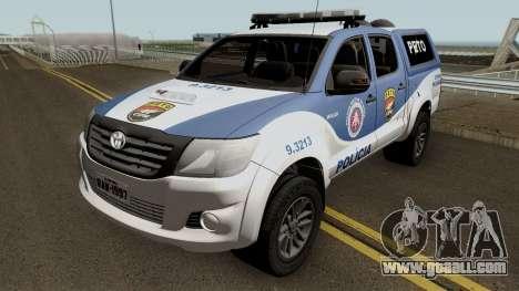 Toyota Hilux 2015 PETO CIPM POJUCA for GTA San Andreas