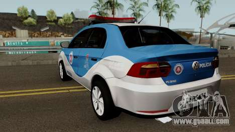 Volkswagen Voyage G7 2017 PMBA for GTA San Andreas