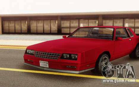 Chevrolet Monte Carlo 1988 for GTA San Andreas