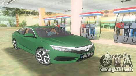 Honda Civic FC5 for GTA Vice City
