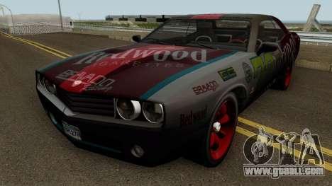 Dodge Challenger SRT Redwood (Gauntlet) 2012 for GTA San Andreas