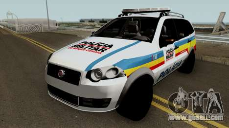 Fiat Palio Weekend Trekking 2012 PMMG for GTA San Andreas
