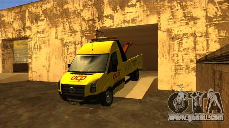 Volkswagen Crafter Portuguese Towtruck for GTA San Andreas