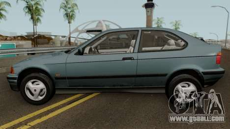BMW 3-Series e36 Compact 318ti 1995 (US-Spec) for GTA San Andreas left view