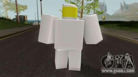 Roblox Noob for GTA San Andreas third screenshot