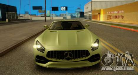 Mercedes-Benz GT-C for GTA San Andreas left view