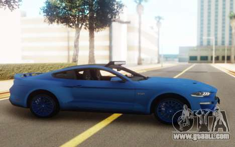 Ford Mustang GT 2018 for GTA San Andreas