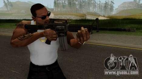 Fallout NV Bushmaster M4A1 for GTA San Andreas