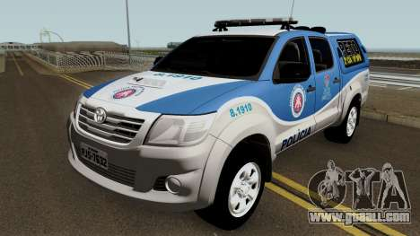 Toyota Hilux PETO CIA Jequie for GTA San Andreas