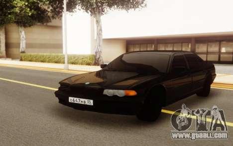 BMW E38 750i for GTA San Andreas