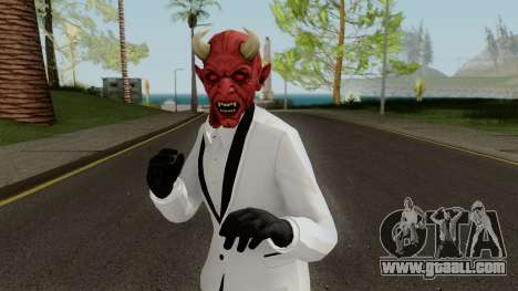 GTA Online Halloween Devil Skin 2018 for GTA San Andreas