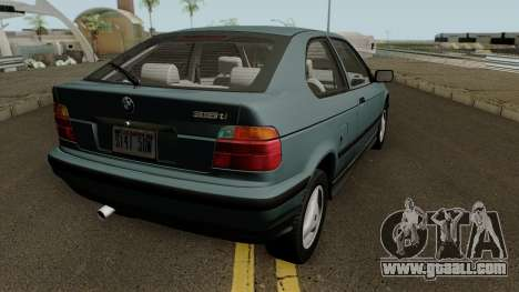 BMW 3-Series e36 Compact 318ti 1995 (US-Spec) for GTA San Andreas right view