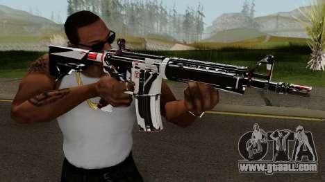 M4A4 TiiTree for GTA San Andreas third screenshot