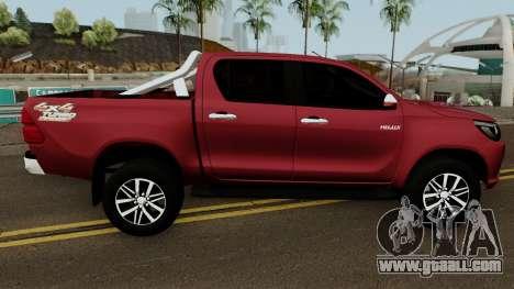 Toyota Hilux SRX 4X4 2017 for GTA San Andreas